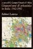 Cinquanta'anni di urbanistica in Italia 1942-1992