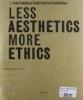 7 mostra internazionale di architettura 1/2 Less aesthetics more ethics