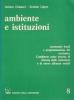 Ambiente e istituzioni