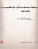 Catalogo Bolaffi dell'architettura italiana 1963-1966