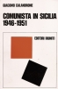 Comunista in Sicilia 1946-1951