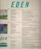 Eden rivista dell'architettura del paesaggio 1/3 cofanetto