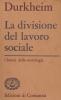 La divisione del lavoro sociale