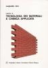 Lezioni di tecnologia dei materiali e chimica applicata