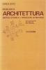 Problemi di architettura: sintesi storica e proposta di metodo
