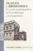 Le teorie tradizionaliste nell'architettura contemporanea